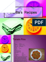 Indira's Recipes