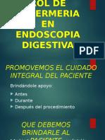Rol de Enfermeria en Procedimientos Endoscopicos