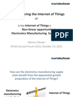 2 Markus Riester Maristechcon Manufacturing the Internet of Things