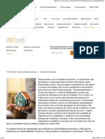 Indicadores de Sustentabilidade _ AECweb