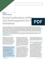 Dental Implications of New