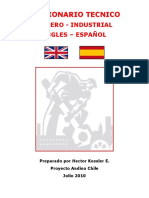 Diccionario Tecnico Ingles - Español HKE