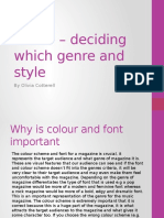 Task 5 – deciding which genre and style.pptx