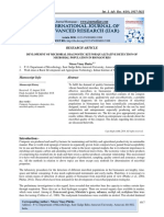 DEVLOPEMNT OF MICROBIAL DIAGNOSTIC KIT FOR QUALITATIVE DETECTION OF MICROBIAL POPULATION IN BIOMANURES