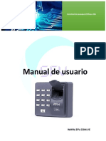 Manual de Usuario X6-Port