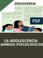 ADOLESCENCIA Cambios Psicologicos 2do Año