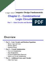 Chap_02 Lec 02 Part1 Combinational Circuits