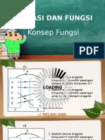 Relasi Dan Fungsi kelas X SMA(Bunga Yana Rosanggreni)