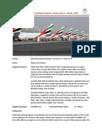 Case Study-Dubai Airport