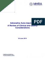 Comparison of Autoinjectors
