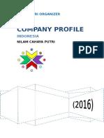 contoh Company Profile Cover