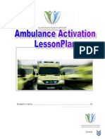 Ambulance Activation Plan