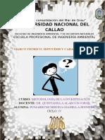 MARCO TEÓRICO - HIPÓTESIS