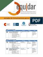 Cronograma Jornadas Para El Tercer Sector (Ong)