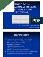 MANEJO DE LA FIBRILACIÓN AURICULAR