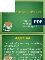 Test ad Non-test Appraisal by Ausria and Adao.pptx