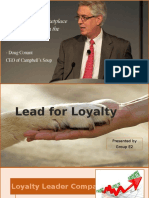 Lead for Loyalty