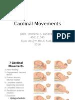 Cardinal Movements