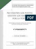 Lucas Soares - No Existen Los Poetas, Existen Los Hablados Por La Poesía