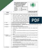 8.7.4.4 Sop Evaluasi Terhadap Uraian Tugas Dan Pemberian Kewenagnan Kepada Petugas Pemberi Pelayanan Klinis