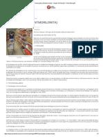 Nanoargilas (Montmorilonita) - Artigos de Nutrição - Portal Educação