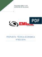 Propuesta Tecnica Nº002-2016 (Collahuasi)