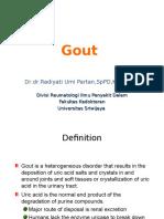 IT 7 - Gout - RAD