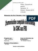 La transition du CGNC aux IFRS