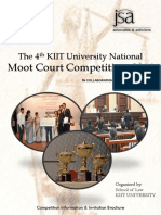 4th KIIT NMCC 2016 Brochure