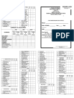 ECCD Checklist [Long]
