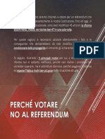 No al Referendum