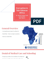 corruption in sub-saharan africa  1