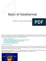 Basic of Geothermal