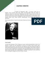 Agatha Christie Final