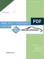 Analisis 5 Fuerzas de Porter Sermaind