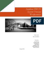 Analiza SWOT Wojkowice
