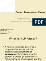 The Stanford Parser