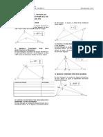 Propiedades de Angulos Con Las Lineas Notables de Los Triangulos