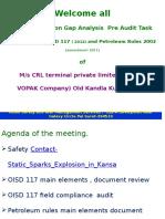 OISD. PESO Gap Analysis