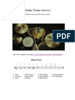ÔÇÿFunky Drum GrooveÔÇÖ Sheet Music