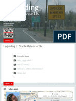DB12c Upgrade Webinar