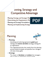 Management 7 Planning Strategy and Competitive Advantage (1)