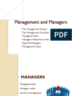Management 2.2. Managers