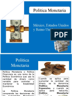 Política Monetaria Mx-Usa