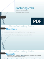 Manufacturing Cell Ppt