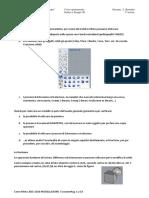 Corso Rhino 2015-2016 Modellazione 5 Lezione