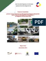 Studiu de Fezabilitate Managementul Deșeurilor Solide în Regiunea de Dezvoltare Sud (ro)