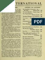 The International, September 1917