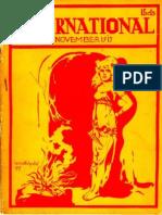 The International, November 1917