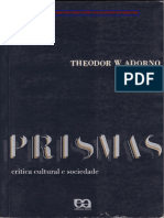 ADORNO T. Anotacoes Sobre Kafka in Prism(Cut)
